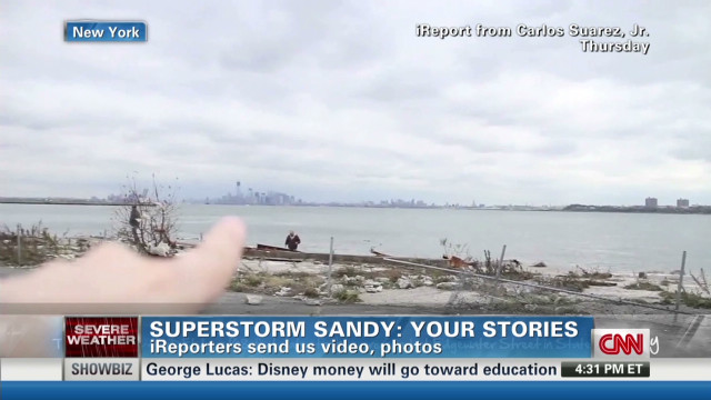 CNN iReport Sandy special: Part 1
