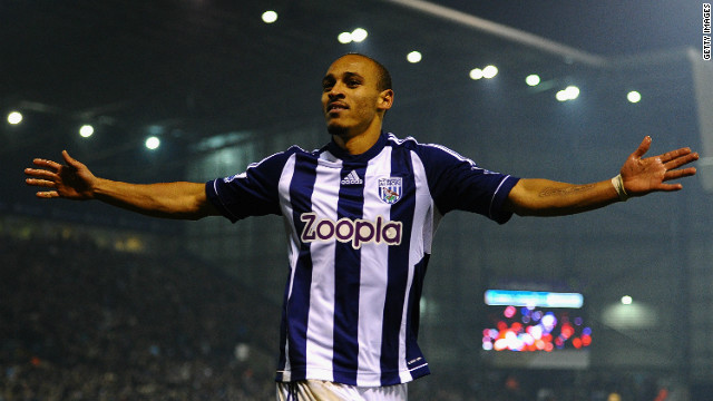 Nigerian striker Peter Odemwingie grabbed two goals as West Bromwich Albion defeated Southampton 2-0