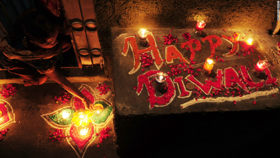 Diwali is a five-day Hindu festival, known as the Festival of Lights, that takes place this year from November 11-15. It is a contraction of the word Deepavali, which means row of lights in Sanskrit.
