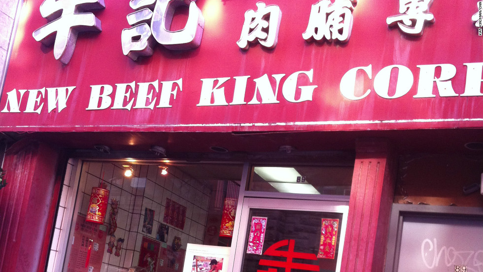 New Beef King, which serves up the best jerky in Chinatown -- or possibly anywhere -- was open for business.