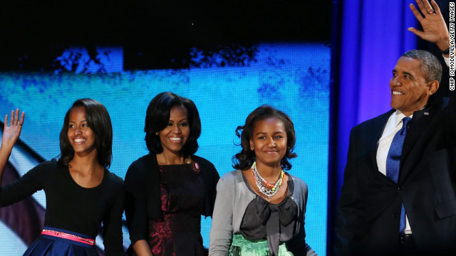 2012: Obama speaks on love of wife, kids