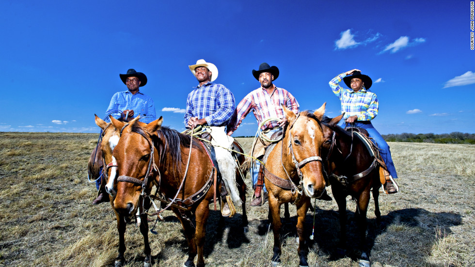 """I think they just want to highlight that Black cowboys still exist. They want to highlight the memory of the black cowboys and keep the tradition alive."" (All images are under the exclusive copyright property of the author John Ferguson and are not to be used without his written agreement.)"