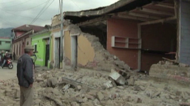 See damage caused by Guatemalan quake