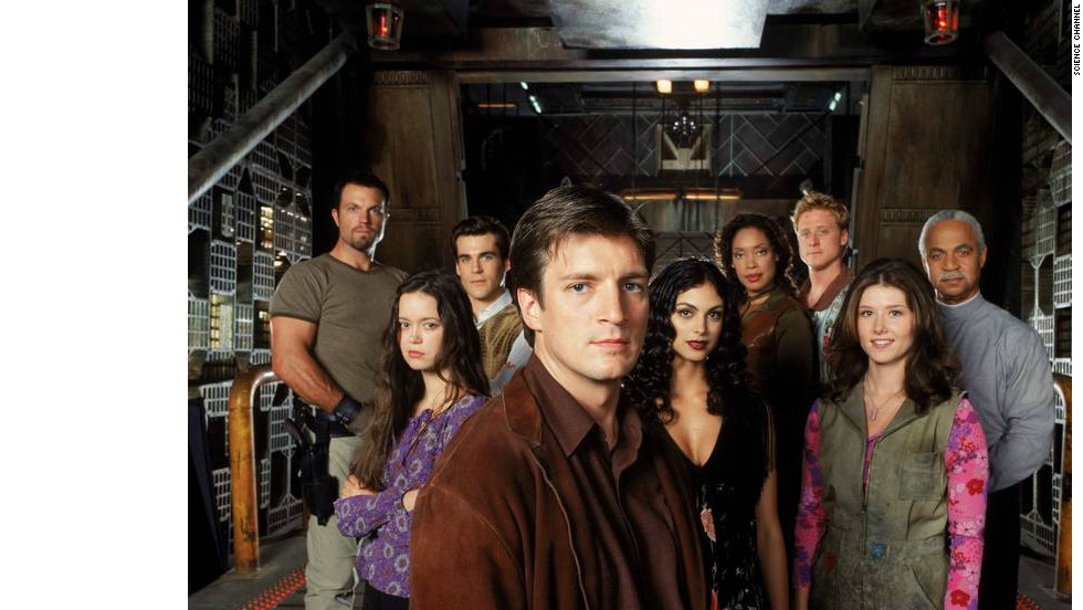 "Kaylee's (Jewel Staite) exclamation of  ""Everything's shiny, Captain. Not to fret,"" followed by Jayne's (Adam Baldwin) ""Shiny. Let's be bad guys,"" in the feature film ""Serenity,"" led to this one word being possibly one of the most-quoted lines by sci-fi fans."