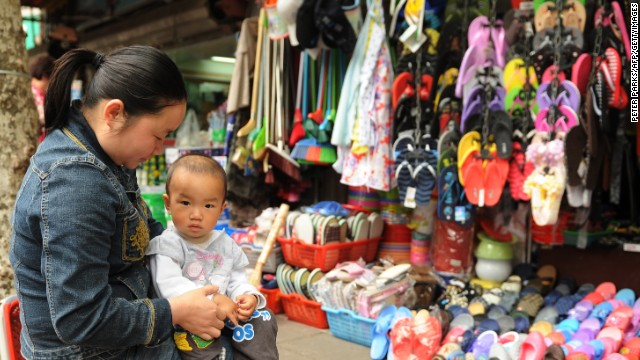 Impact of China easing 'one child' policy