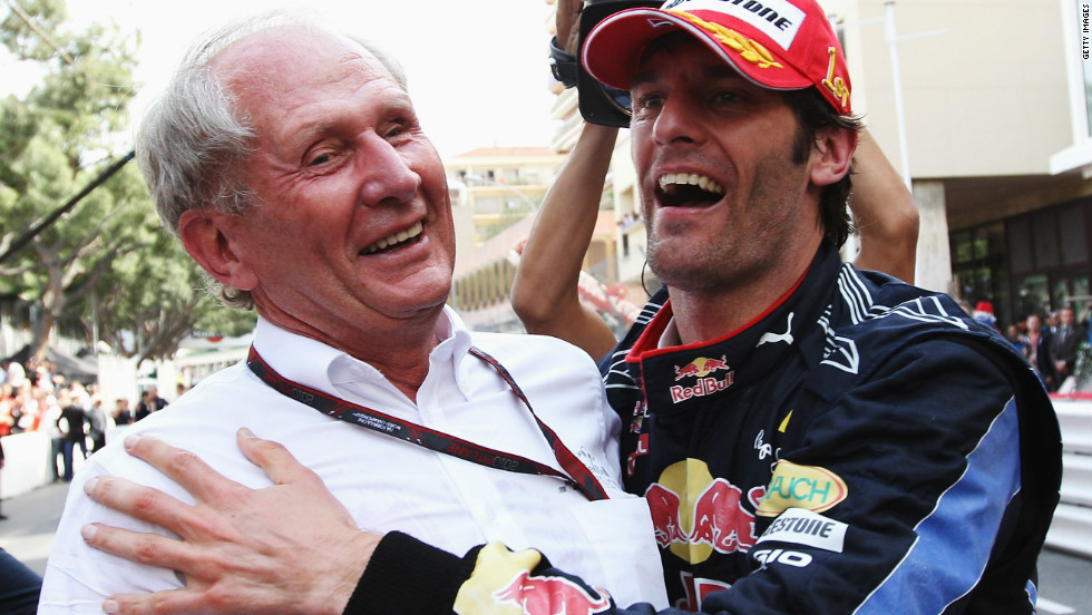 Vettel has long been nurtured by Helmut Marko, titled a motorsport consultant at Red Bull but the eyes, ears and mouth piece of team owner Dietrich Mateschitz, and a figure Webber has not always seen eye to eye with.