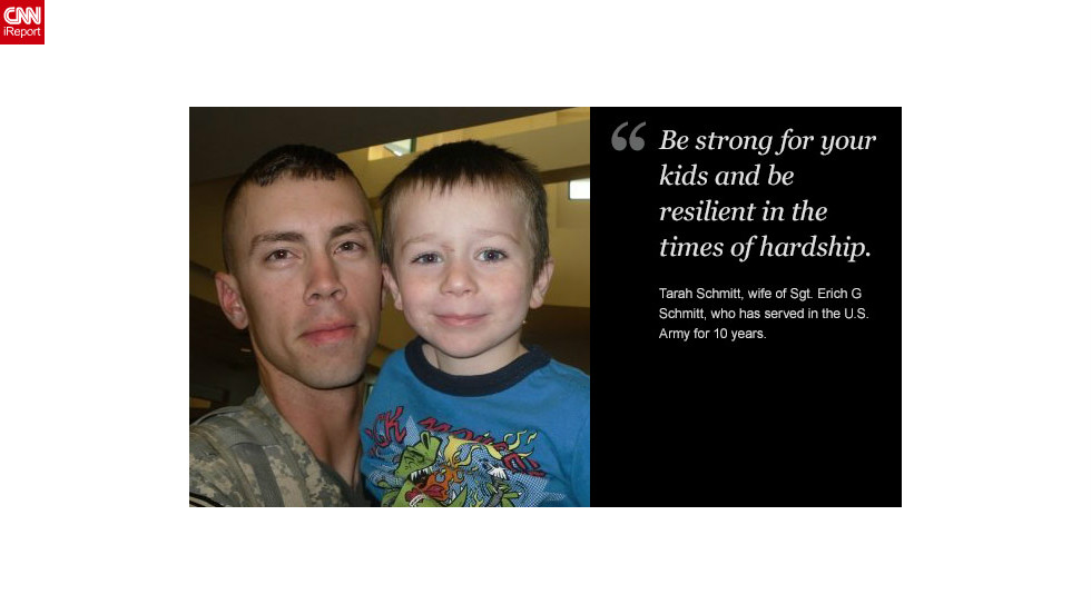 "<a href=""http://ireport.cnn.com/docs/DOC-878643"">Read Tarah Schmitt's tribute to her husband on iReport.</a>"