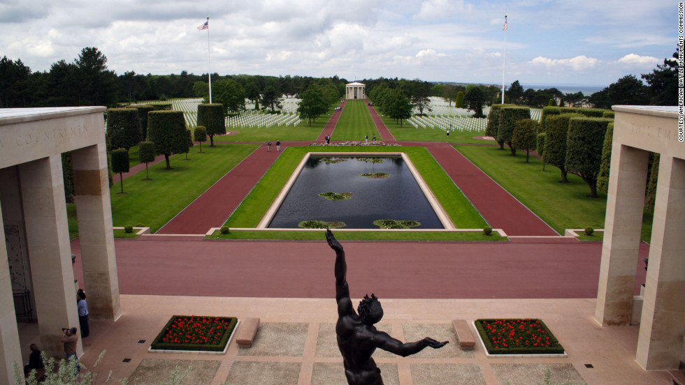 "The <a href=""http://www.cnn.com/2012/11/10/travel/american-cemeteries-overseas/index.html"">Normandy American Cemetery and 23 other overseas cemeteries</a> operated by the American Battle Monuments Commission will be closed to the public for the duration of the shutdown."
