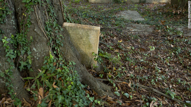 Monthly cleanups at Linwood Cemetery have uncovered dozens of graves, swallowed by vegetation.