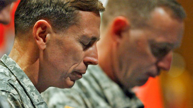 Washington shocked by Petraeus departure