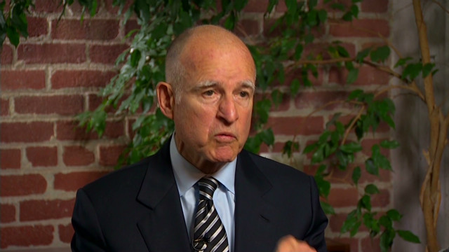 California gov on 'high' expectations