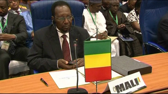 Africa group OKs new troops for Mali