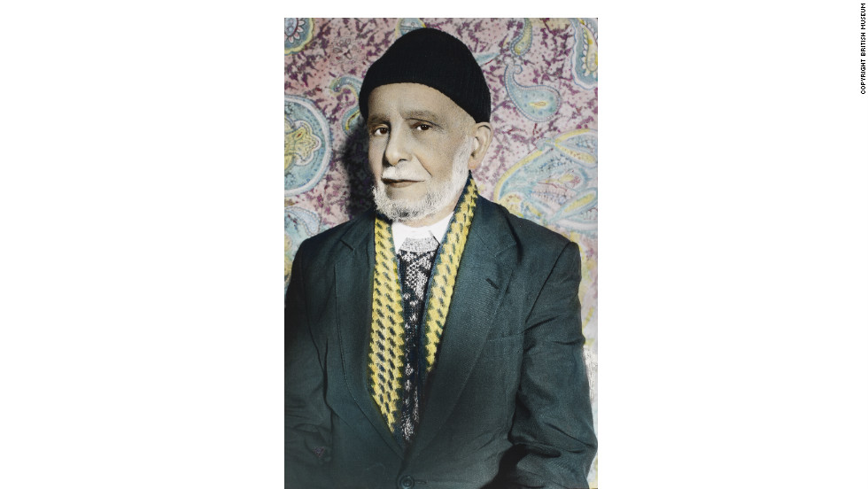 "<strong>Detail from the series 'The Yemeni Sailors of South Shields' by Youssef Nabil (2006)<br /></strong>Cairo-born Youssef Nabil hand colours his black-and-white photographs to create portraits reminiscent of the film posters produced during the golden age of Egyptian cinema in the 1950s. In 2006, he photographed elders from the Yemeni community of South Shields, north-east England -- giving the portraits added glamour through the association with ""Hollywood on the Nile"" era media. <strong>Gallery compiled by Matt Ponsford, for CNN</strong>"