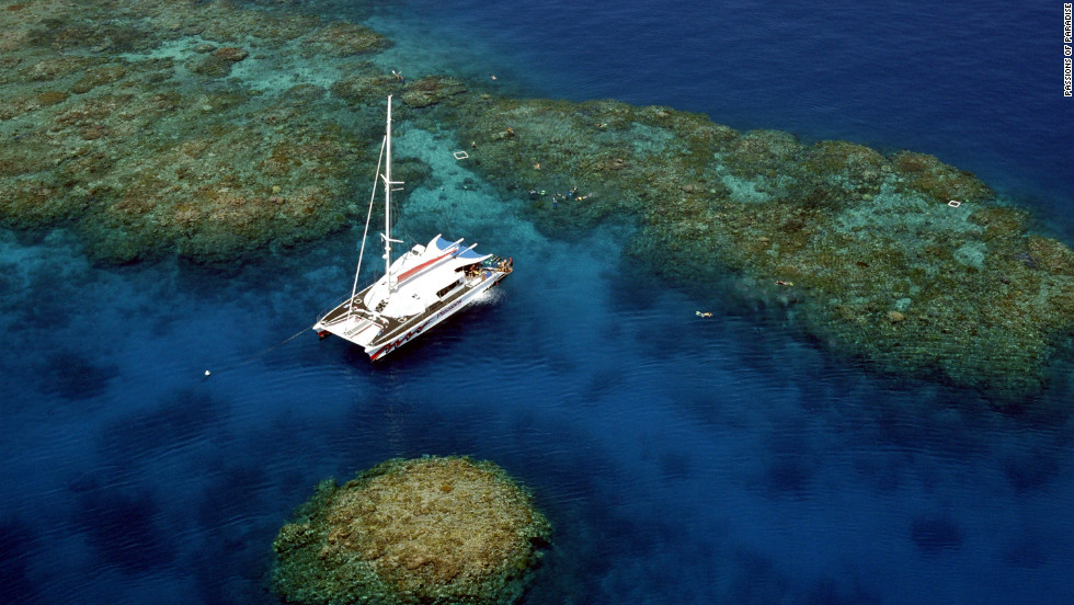 "From luxury catamarans to dive boats, several sailing vessels will be departing Port Douglas and Cairns. Operators such as <a href=""http://www.passions.com.au/"" target=""_blank"">Passions of Paradise</a> are giving passengers the chance to jump in the water to snorkel the moment the moon completely blocks the sun so they can see how the marine life of the Great Barrier Reef behave during the natural phenomenon."