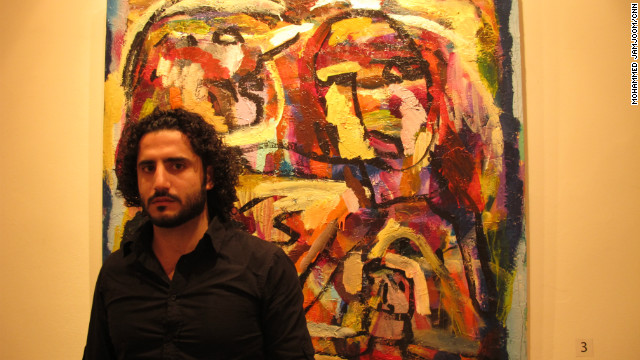Syrian artists express pain through paintings