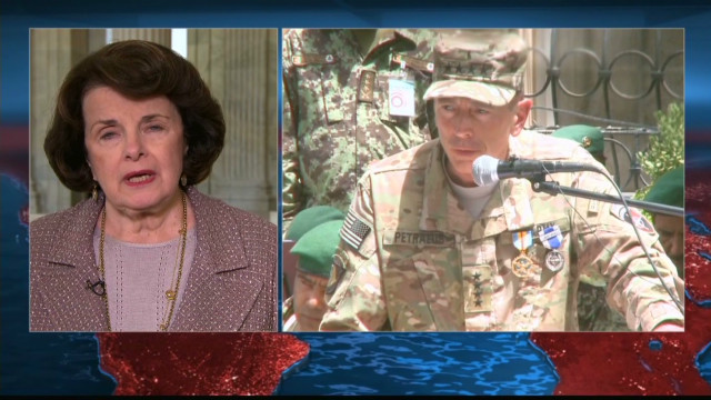 Feinstein intends to talk to Petraeus