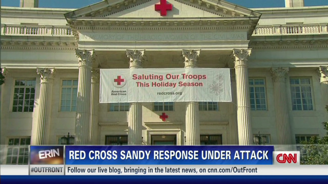 Red Cross under fire over Sandy relief