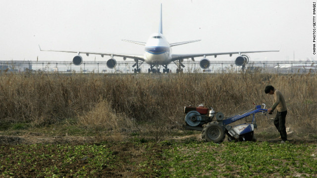 Petitioners claim they were evicted from their land for expansion of the Pudong International Airport.