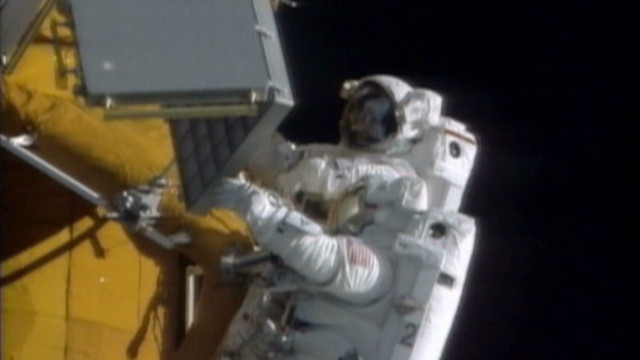 Space walk with Parkinson's diagnosis