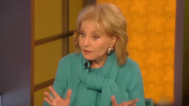 Iconic TV personality Barbara Walters, 83, fell on a stair Saturday and cut her head, ABC said.