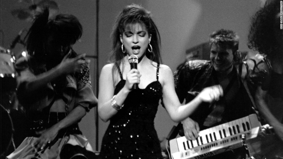 Gloria Estefan performed in 1989.