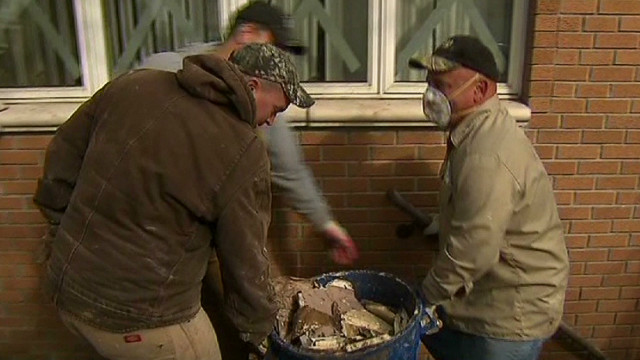 Sandy victims critical to storm relief