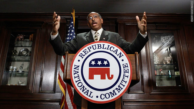 Michael Steele as RNC Chairman in 2012