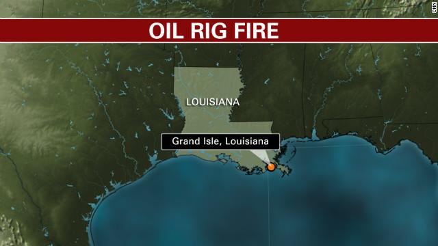 Oil platform explodes in Gulf of Mexico 11 injured 2 missing  CNN