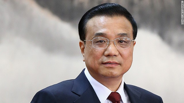China names Li Keqiang as new premier