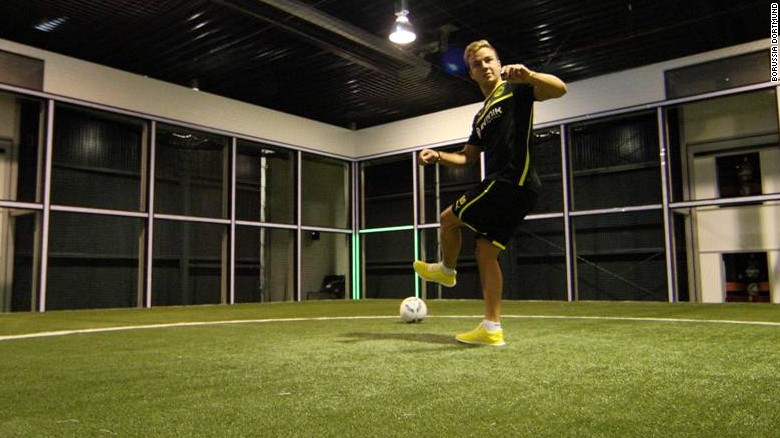 Enter 'Footbonaut,' the soccer skill machine