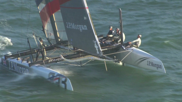 Gold medalists take on America's Cup