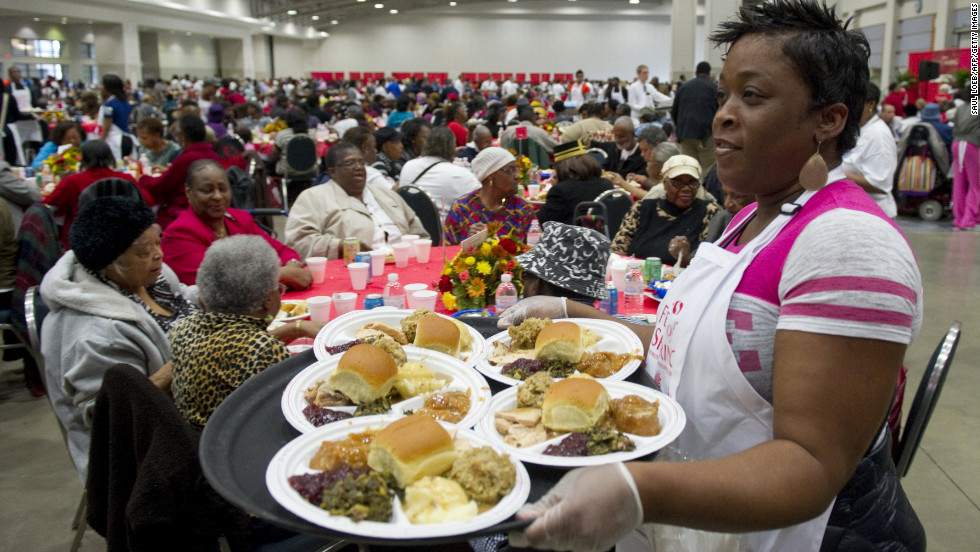 "The United States celebrates Thanksgiving on Thursday. Families will reunite, turkeys will be served, and some 43.6 million Americans are expected to travel at least 50 miles from home for the holiday, according to AAA. To help with any emergency cooking woes, <a href=""http://eatocracy.cnn.com/"" target=""_blank"">Eatocracy will be on hand</a> with all the Thanksgiving help you need, from turkey prep made simple to the tastiest use of leftovers."