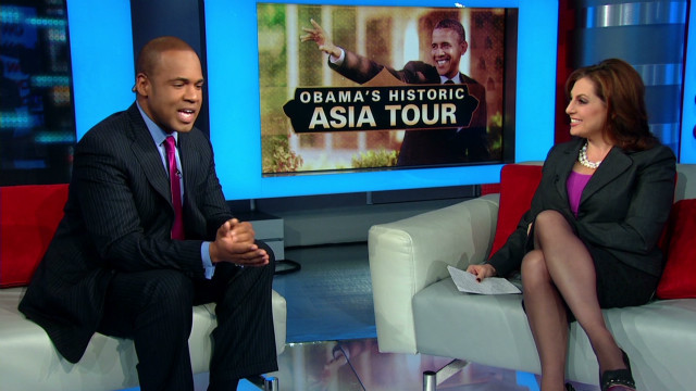 Obama tours Southeast Asia