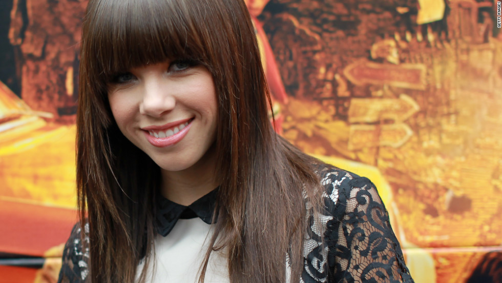 """I'm actually going to be part of the Macy's Parade, and I've been on the hunt for a warm and stylish jacket,"" Carly Rae Jepsen told CNN of her Turkey Day plans."