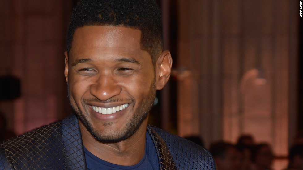 """This year I'm going to try to clean it up a little bit and maybe not eat so many calories,"" Usher revealed to CNN at the American Music Awards."