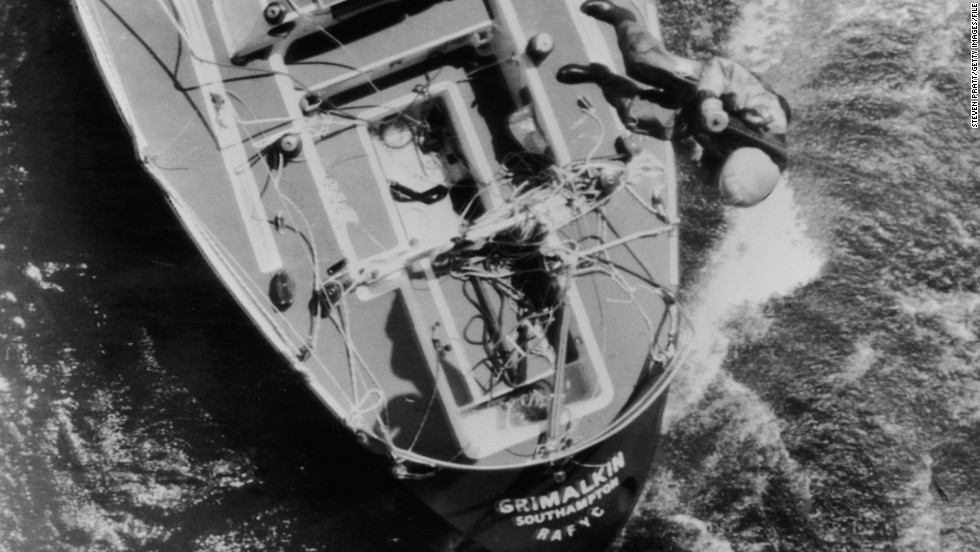 The capsize experiment was based on the experiences of sailors caught  in the disasterous 1979 Fastnet Race. Severe storms in the Irish Sea killed 15 competitors.