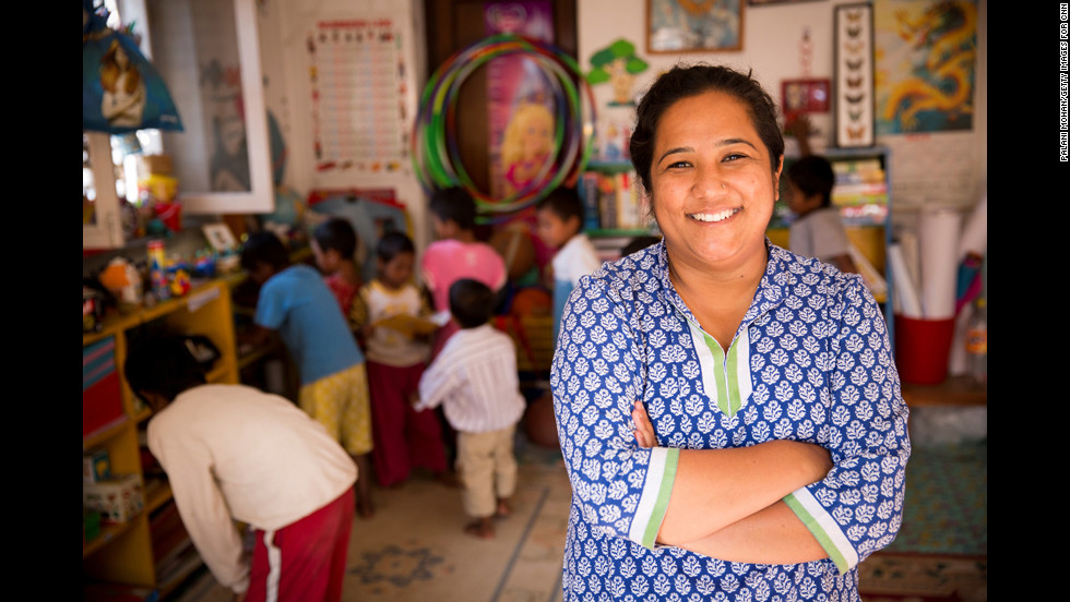 "Pushpa Basnet, the 2012 <a href=""http://www.cnn.com/2012/12/02/world/cnnheroes-show/index.html"">CNN Hero of the Year</a>, was shocked to learn that many children in Nepal had no choice but to live with their incarcerated parents behind bars. So she started a day care program for many of these children and opened a home in Kathmandu where dozens of them can <a href=""http://www.cnn.com/2012/03/15/world/cnnheroes-basnet-nepal-prisons/index.html"">live a more normal life</a>."