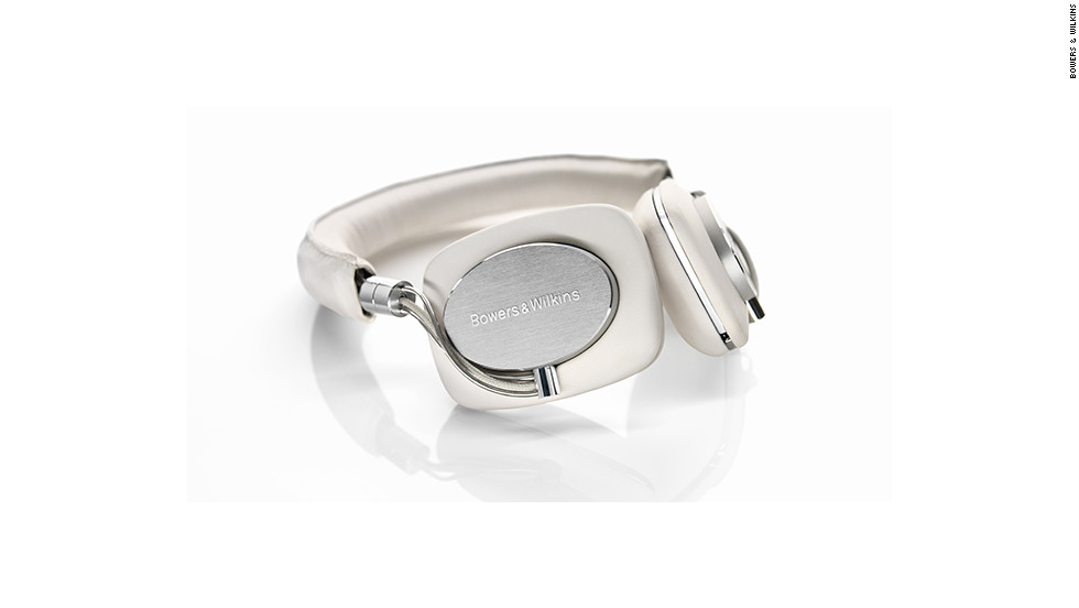 "The <a href=""http://www.bowers-wilkins.com/Headphones/Headphones/P5/Overview.html"" target=""_blank"">Bowers & Wilkins P5 headphones</a> are not for people content with cheap in-ear buds. These are hi-fi headphones made out of sheep leather and metal, designed to cushion your ears and fill them with rich-sounding tunes while blocking out the rest of the world. The $300 headphones also have a built-in mic so you can take phone calls."