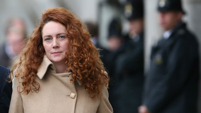 (File photo) Rebekah Brooks, the former head of News International is pictured on September 26 in London.