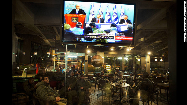 Israel reacts to cease-fire