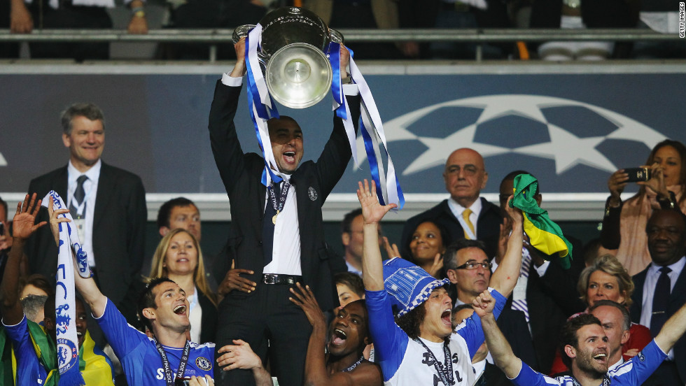 Di Matteo's crowning glory came in May, when Chelsea defeated Bayern Munich on penalities to win the European Champions League. The historic success, Chelsea's first in the competition, was one of the reasons why club owner Roman Abramovich gave Di Matteo the manager's job on a full-time basis.