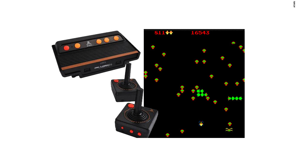 "If your child has been begging for a Wii U or an Xbox, mix it up by giving them one of the all-time greatest gaming consoles instead. The <a href=""http://www.bestbuy.com/site/AtGames---Atari-Flashback-4-Retro-Gaming-Console/6305313.p?id=1218727569751&skuId=6305313"" target=""_blank"">Atari Flashback 4</a> is loaded with 75 timeless games such as ""Centipede"" and ""Space Invaders."" It plugs right into the TV, has two wireless controllers and costs $50."