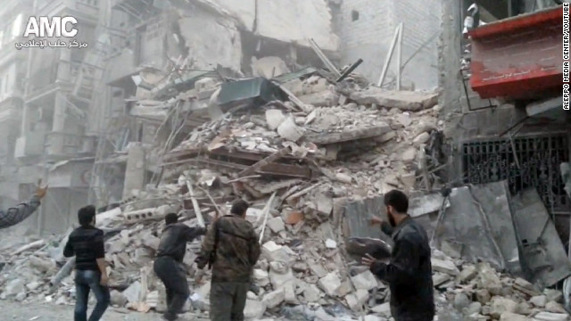 Major hospital bombed in Syria