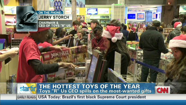 Toys 'R' Us CEO spills on hot gifts