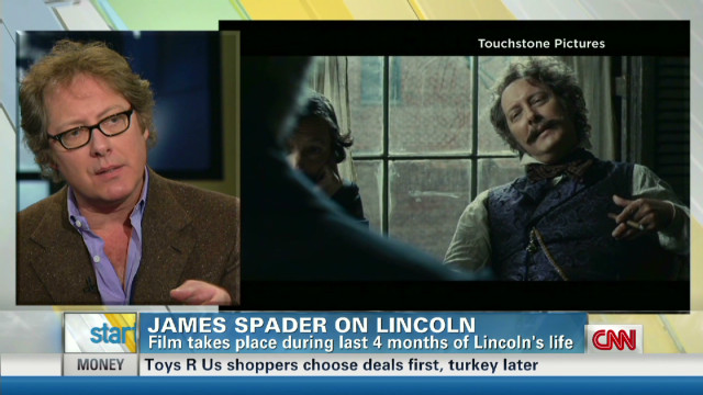 James Spader takes on role in 'Lincoln'