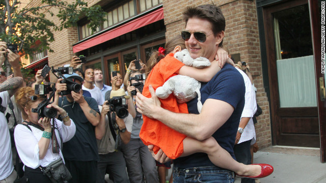 """I have in no way cut Suri out of my life,"" Tom Cruise says of his young daughter."