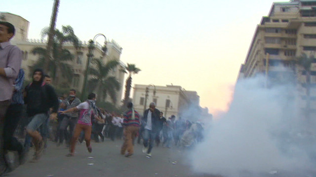 Massive protests erupt in Cairo