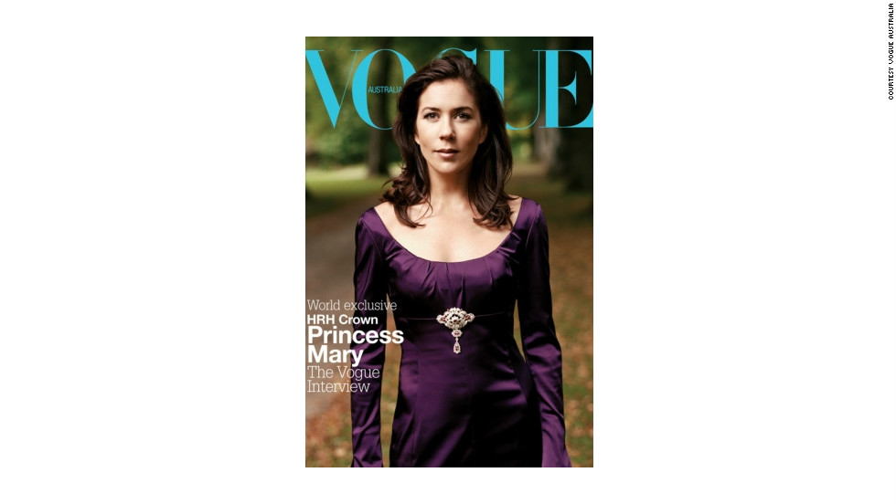 The world-renowned fashion magazine featured Princess Mary of Denmark on its cover in December 2004. The Australian met husband Prince Frederik during the 2000 Sydney Olympics.