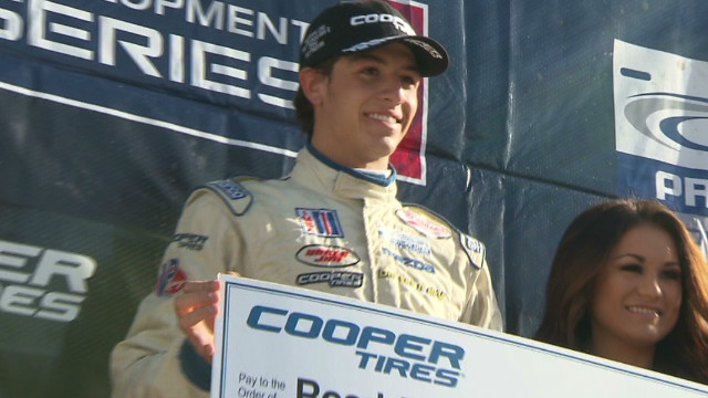 Teen race driver pushes safe driving