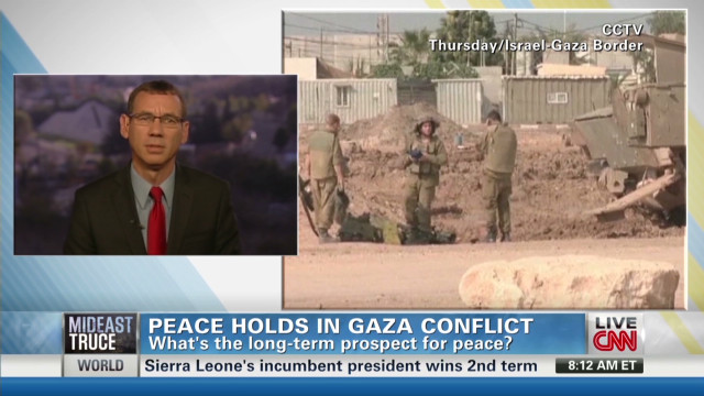 Peace holds in Gaza conflict